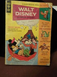 VINTAGE 1970 GOLD & KEY GOLDEN COMIC DIGEST WALT DISNEY MICKEY MOUSE #21