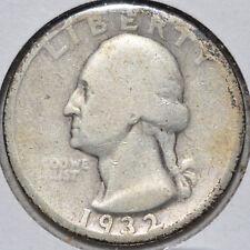 1932-D 25C Washington Quarter Denver Key Date Circulated