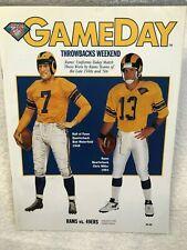 LOS ANGELES RAMS v SAN FRANCISCO Game Program 49ers-Sept. 18,1994