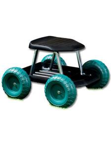 Rollsitz Garten Gartenarbeit Rollwagen Sitzhilfe Hausarbeit Sitz Roller