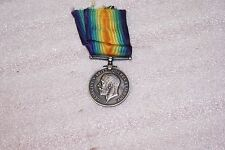 1918 Great Britain George V World War 1 WWI Silver Victory Medal