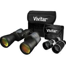 NEW VIVITAR 8X50 AND 4X30 VS-843 VALUE SERIES BINOCULAR SET PORRO PRISM KIT