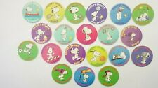 Sanitarium Peanuts Sportscaps (Snoopy Sports) tazos/caps set of 20 issued 1995