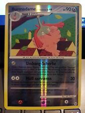 Pokemon Burmadame 51/99 Reverse Holo Deutsch NM