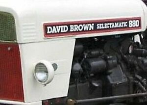 For David Brown 3 CYL. DIESEL ENGINE OVERHAUL KIT AD3/55A 880