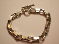 ^°^ Wuchtiges Bracelet Chaîne en Forme Ein de Montre Poche Métal (2)