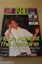 Tylko Rock 9/1994 Rage Against The Machine, Thin Lizzy, Pink Floyd,
