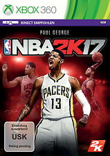 Nba 2k17 (Microsoft Xbox 360, 2016, DVD-box)