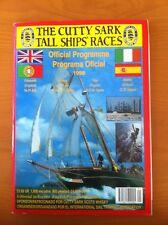 Programa oficial regata Cutty Sark 1998