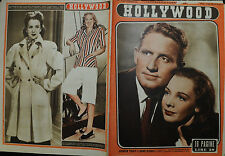 HOLLYWOOD N°122 /17.GEN.48 Sett.le Cinematografico: SPENCER TRACY e SIGNE HASSO