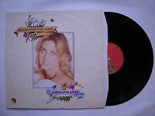 Olivia Newton-John - Long Live love, EMI EMC-3028 Ex Condition, Textured Sleeve