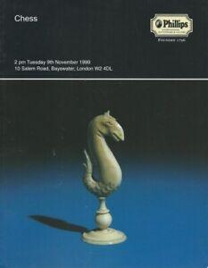 Phillips 'Chess' Auction Catalogue, November 1999