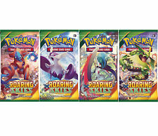 Pokemon XY Roaring Skies - 4 Sealed Booster Packs - New Trading Cards