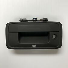 GM OEM Silverado Sierra Tailgate Handle w/ backup camera hole Black Texture