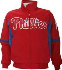 Philadelphia Phillies Authentic Dugout Jacket 4XL Therma Base Home Premier MLB