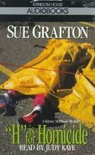H is for Homicide (Sue Grafton) Grafton, Sue Audio Cassette