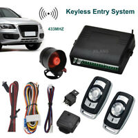 Car Auto Alarm Remote Controller Security Keyless Entry Anti-theft System I7Y8
