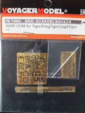 1:72 Voyager Model #PE72001  WWII OVM for Tiger/KingTiger/JagdTiger (For all)