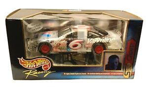 Mark Martin 1999 Hot Wheels Select 1/24 #6 Valvoline Clear Car NASCAR Ford NEW
