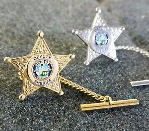 Florida Deputy Sheriff Jewelry Tie Tac Star