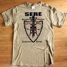 SERE Training T-Shirt Survival Evasion Resistance Escape Army Navy Marines