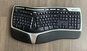 Microsoft Natural Wireless Ergonomic Keyboard 7000 Model 1118 NO DONGLE
