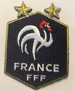 French Football Federation Patch World Cup Champions 2018