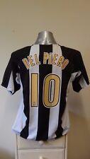 Juventus Home Football Shirt Jersey 2004-2005 DEL PIERO 10 Large