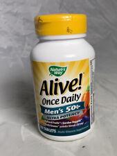 Nature's Way Alive Max3 Daily Men's Max Potency Multivitamin 90 Tabs EXP:01/22