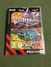 ROLLER COASTER TYCOON 3 - DELUXE EDITION (PC) w/ Original Case