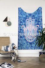 Hamsa Fatima Hand Wall Hanging Twin Psychedelic Wall Decor Throw Boho Wall Art
