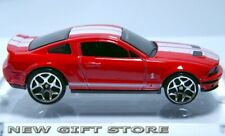RARE KEY CHAIN 07~2014 RED & WHITE FORD SHELBY MUSTANG GT500 NEW LIMITED EDITION