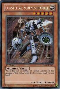 Yu-Gi-Oh Yugioh Constellar Zubeneschamali HA07-EN009 Secret 1st Near-Mint!