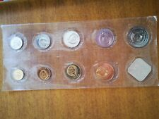 More details for sealed russian coin uncirculated set 1986. leningrad mint
