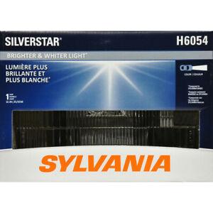 1 New SYLVANIA H6054 SilverStar High Performance Halogen Sealed Beam Headlight