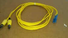 US MADE    3 m   BICONIC  to   LC     single mode  fiber optic  cable