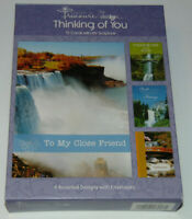 BOX 12 Christian THINKING OF YOU  Greeting Cards, KJV Bible Scripture & Verse