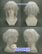 Hakuouki Souji Okita Cosplay wig Costume White colour 144A