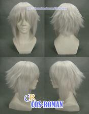 Hakuouki Souji Okita Cosplay wig Costume White colour 144A