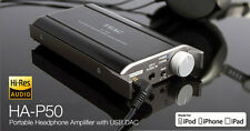 TEAC HA-P50 Hi-Res Headphones Amplifier Amp DAC for iPone/iPad /MAC/PC/Laptop