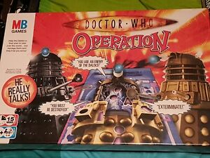 Doctor Who Operation Game Talking Dalek NEW & SEALED 2007 MB GAMES