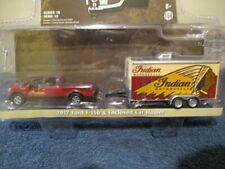 GREENLIGHT HITCH & TOW SERIES 18, INDIAN MOTORCYCLE 2017 FORD F-150 & CAR HAULER