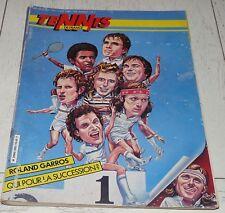 TENNIS FRANCE N°350 1982 ROLAND GARROS LENDL MAC ENROE EVERT BORG AUSTIN TANVIER