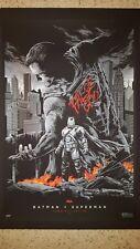 Ken Taylor – Batman v Superman Variant release – Mondo Limited Edition –SOLD OUT
