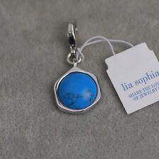NWT Lia sophia jewelry cute turquoise necklace pendant free shipping