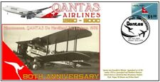 QANTAS AIRLINES 80th ANNIVERSARY COV, 1932 DEHAVILLAND