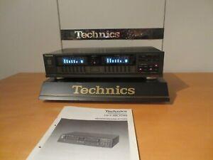 Technics SH-8058 7-BAND STEREO GRAPHICH EQUALIZER mit BEDIENUNGSANLEITUNG!!!