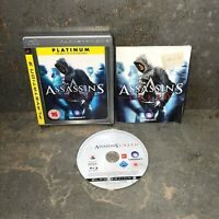 Assassin's Creed Platinum PS3 Playstation 3 Immaculate Condition Fast Free Post