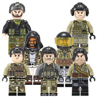 24PCS Swat Military Force Army Guerrilla Building toys Minifigures
