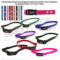 """Invisible Fence R21 R22 R51 Replacement Nylon Collar Universal Size 1 5/8"""" Apart"""